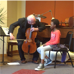 A cello lesson with Hans Jensen