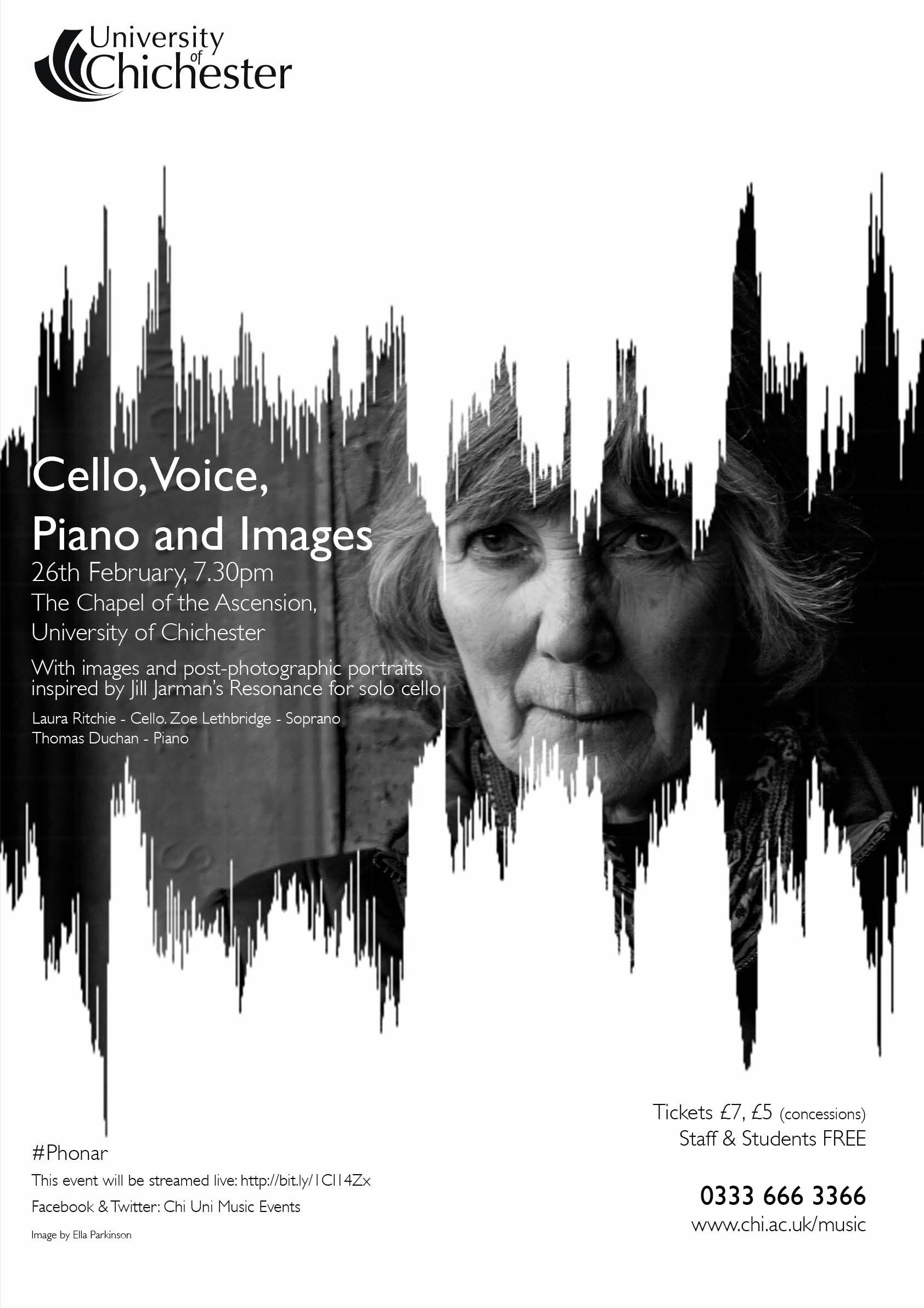 Cello and voice poster