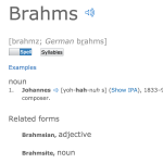 http://www.dictionary.com/browse/brahms